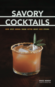 Savory Cocktails cover